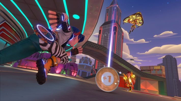 All aboard the Knockout City Hover-Train in Jukebox Junction – PlayStation.Blog