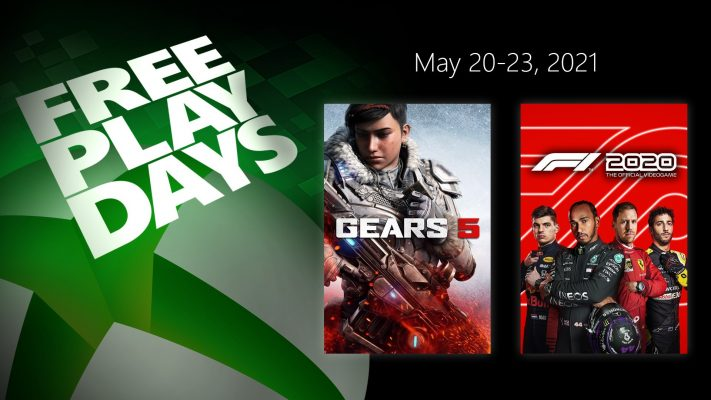 Free Play Days – Gears 5 and F1 2020