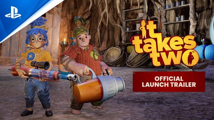 It Takes Two – Official Launch Trailer | PS5, PS4