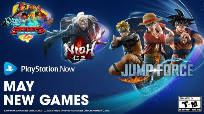 Jump Force, Nioh and Streets of Rage 4 – PlayStation.Blog
