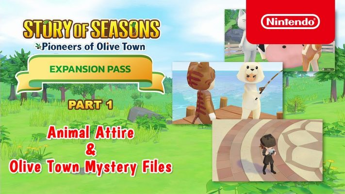 STORY OF SEASONS: Pioneers of Olive Town - Expansion Pass Update - Nintendo Switch