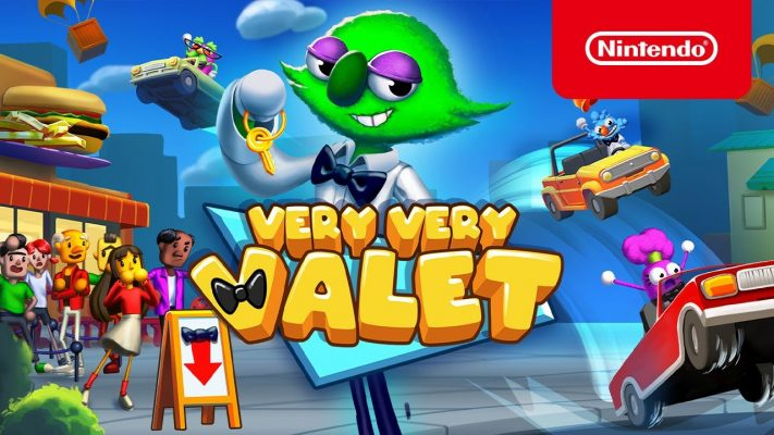 Very Very Valet - Launch Trailer - Nintendo Switch