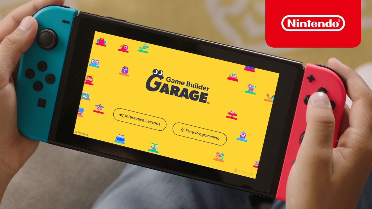 Game Builder Garage - Available Now - Nintendo Switch