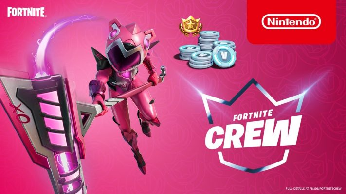 Mecha Cuddle Master lands in the Fortnite Crew in June - Nintendo Switch