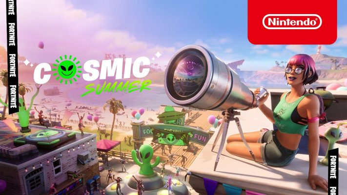 Cosmic Summer Comes To The Fortnite Island - Nintendo Switch
