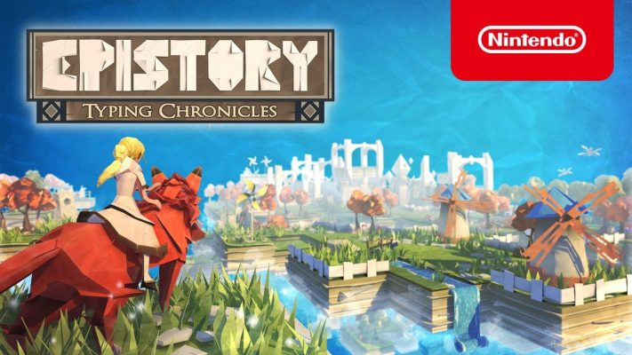Epistory: Typing Chronicles - Launch Trailer - Nintendo Switch