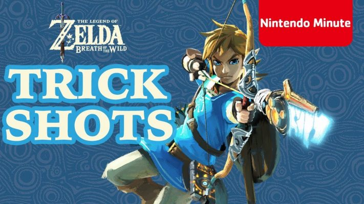 The Legend of Zelda: Breath of the Wild – Can YOU make these trick shots?