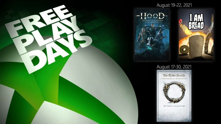 Free Play Days - August 19
