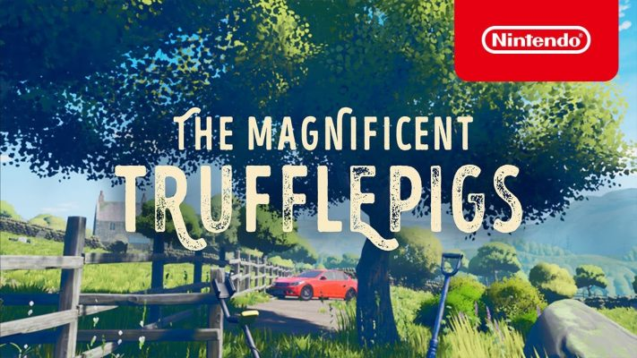 The Magnificent Trufflepigs - Launch Trailer - Nintendo Switch