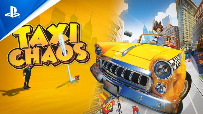 Taxi Chaos - Launch Trailer | PS4
